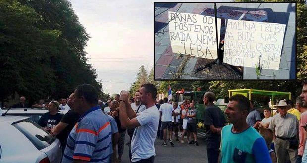 Malinari nastavljaju proteste